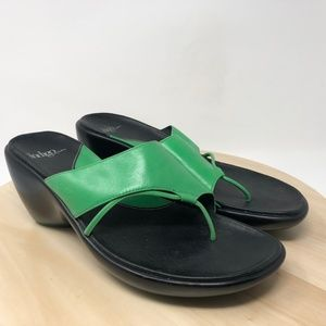 Indigo 80055 Women's Size 9.5M Leather Slides DB7